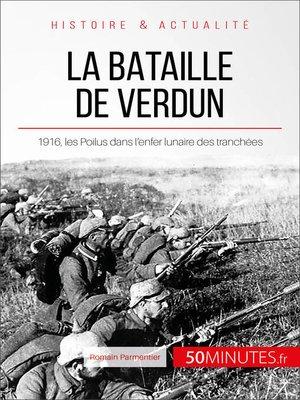 cover image of La bataille de Verdun