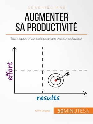 cover image of Augmenter sa productivité