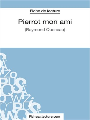 cover image of Pierrot mon ami