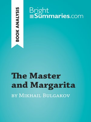 cover image of The Master and Margarita by Mikhail Bulgakov (Book Analysis)