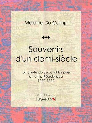 cover image of Souvenirs d'un demi-siècle