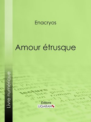 cover image of Amour étrusque