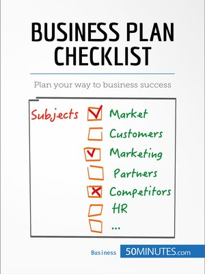 cover image of Business Plan Checklist