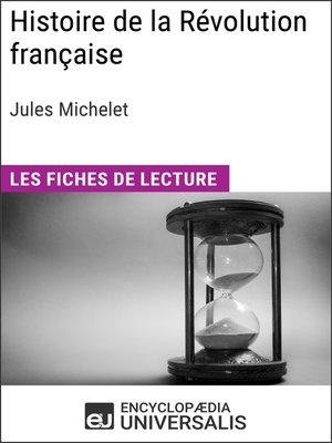 cover image of Histoire de la Révolution française de Jules Michelet