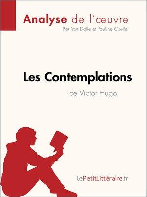 cover image of Les Contemplations de Victor Hugo (Analyse de l'oeuvre)