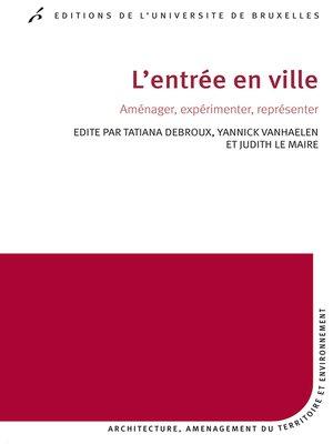 cover image of L'entrée en ville