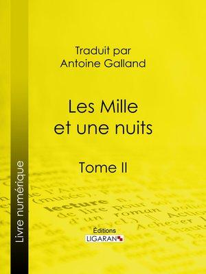 cover image of Les Mille et une nuits