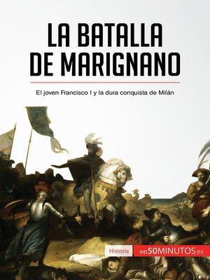 cover image of La batalla de Marignano