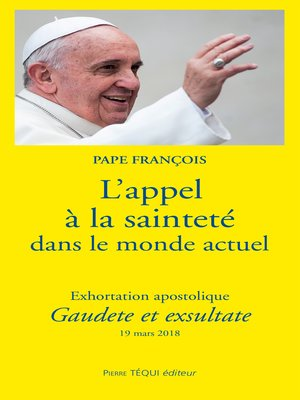 cover image of L'appel à la sainteté dans le monde actuel