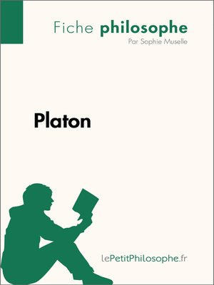 cover image of Platon--Fiche philosophe
