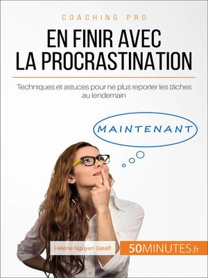 cover image of En finir avec la procrastination
