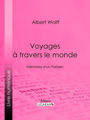 cover image of Voyages à travers le monde