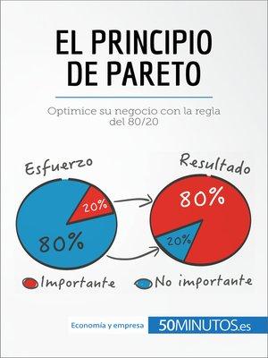 cover image of El principio de Pareto