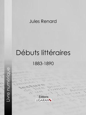 cover image of Débuts littéraires