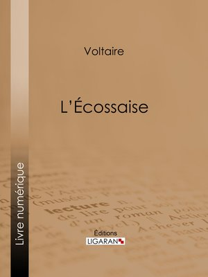 cover image of L'Ecossaise