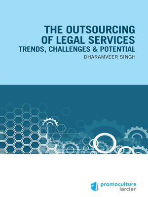 cover image of The Outsourcing of Legal Services