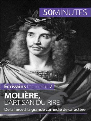 cover image of Molière, l'artisan du rire