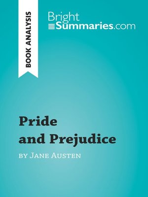 cover image of Pride and Prejudice by Jane Austen (Book Analysis)
