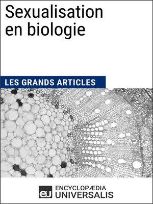 cover image of Sexualisation en biologie