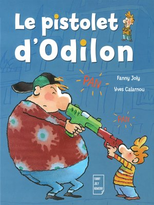 cover image of Le pistolet d'Odilon