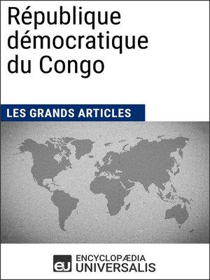 cover image of République démocratique du Congo
