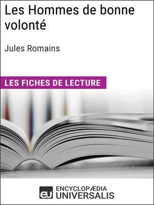 cover image of Les Hommes de bonne volonté de Jules Romains