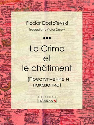cover image of Le Crime et le châtiment