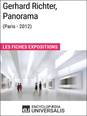 cover image of Gerhard Richter, Panorama (Paris--2012)