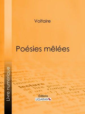 cover image of Poésies mêlées