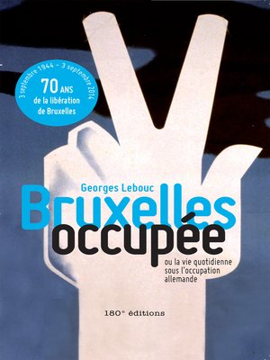 cover image of Bruxelles occupée