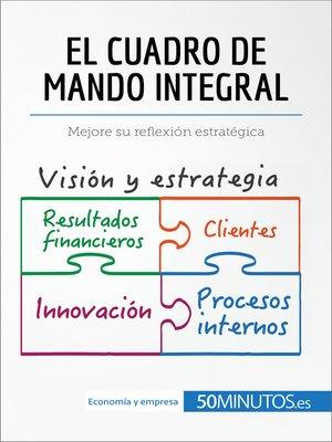 cover image of El cuadro de mando integral