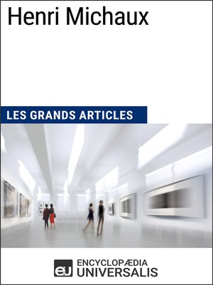 cover image of Henri Michaux