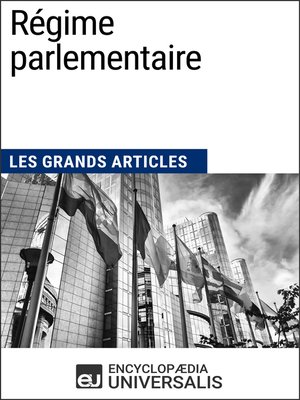 cover image of Régime parlementaire