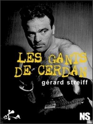 cover image of Les gants de Cerdan