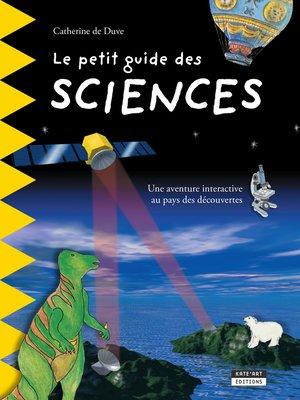 cover image of Le petit guide des sciences
