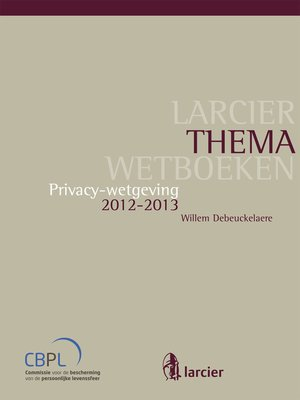 cover image of Privacy-wetgeving