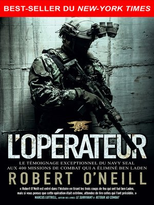 cover image of L'opérateur