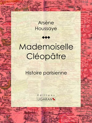 cover image of Mademoiselle Cléopâtre
