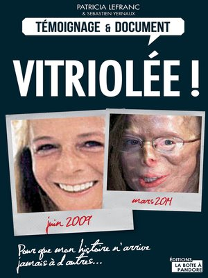 cover image of Vitriolée !