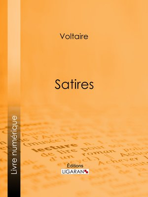 cover image of Satires