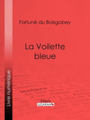 cover image of La Voilette bleue