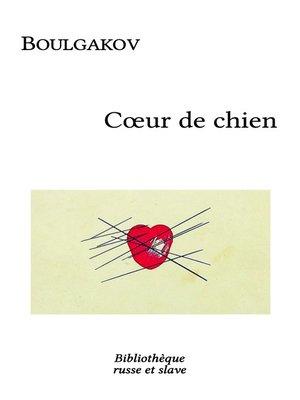 cover image of Coeur de chien