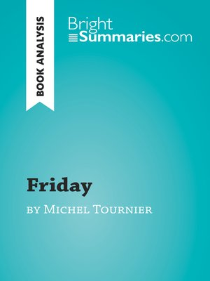 cover image of Friday by Michel Tournier (Book Analysis)