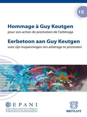 cover image of Hommage à Guy Keutgen / Eerbetoon aan Guy Keutgen
