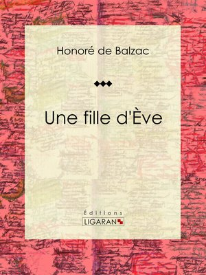 cover image of Une fille d'Ève