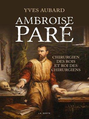 cover image of Ambroise Paré