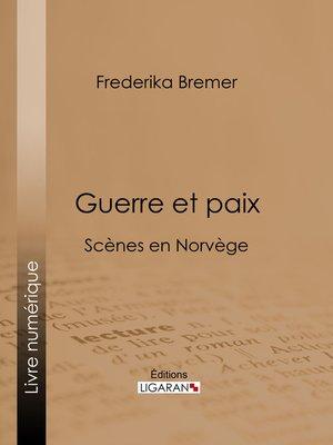 cover image of Guerre et paix