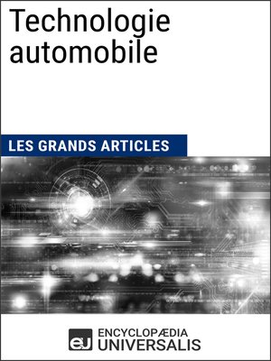 cover image of Technologie automobile