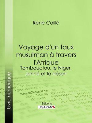 cover image of Voyage d'un faux musulman à travers l'Afrique