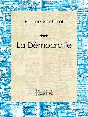 cover image of La Démocratie